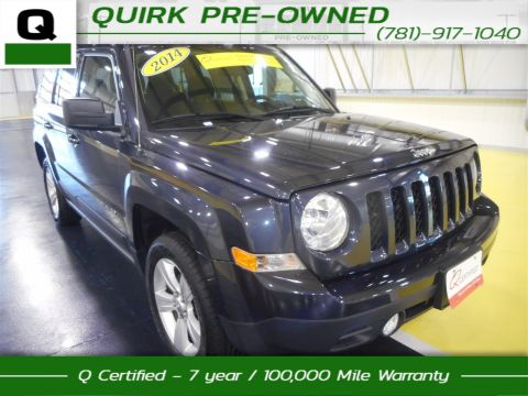Certified Pre-Owned 2014 Jeep Patriot Latitude 4WD