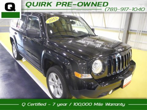 Certified Pre-Owned 2015 Jeep Patriot Latitude 4WD