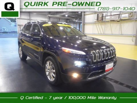 Certified Pre-Owned 2014 Jeep Cherokee Limited 4WD