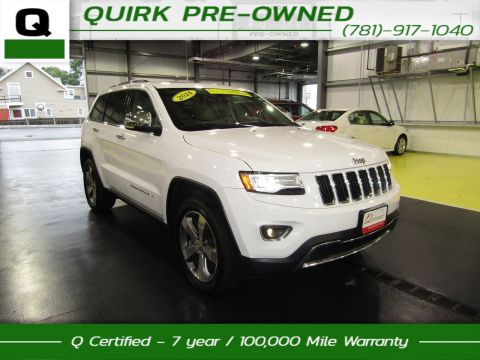 Certified Pre-Owned 2014 Jeep Grand Cherokee Limited Luxury Group II 4WD