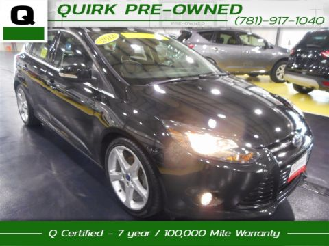 Certified Pre-Owned 2012 Ford Focus Titanium FWD Hatchback