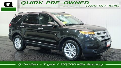 Certified Pre-Owned 2015 Ford Explorer XLT