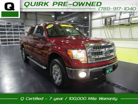 Certified Pre-Owned 2014 Ford F-150 XLT 4WD