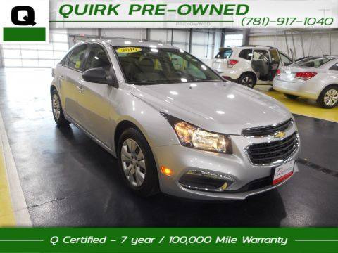 Certified Pre-Owned 2016 Chevrolet Cruze Limited LS FWD 4dr Car