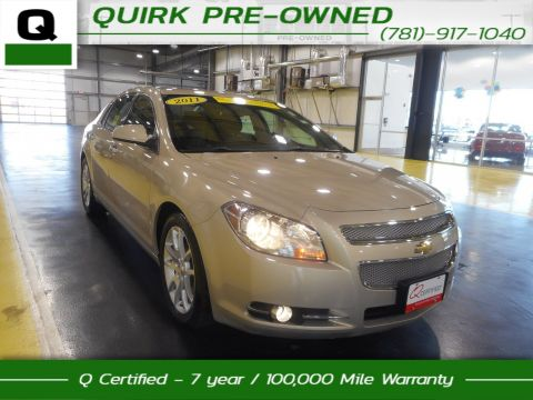 Certified Pre-Owned 2011 Chevrolet Malibu LTZ FWD 4dr Car