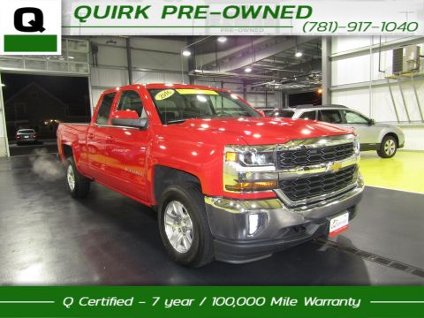 Certified Pre-Owned 2016 Chevrolet Silverado 1500 LT 4WD