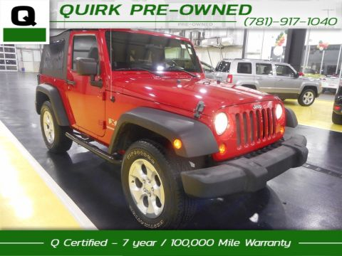Certified Pre-Owned 2008 Jeep Wrangler X 4WD