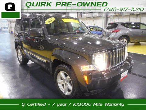 Certified Pre-Owned 2011 Jeep Liberty Limited 4WD