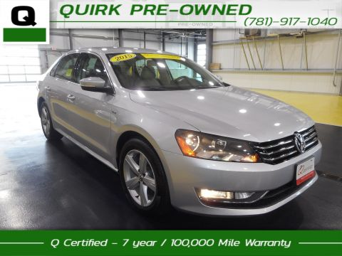 Certified Pre-Owned 2015 Volkswagen Passat Limited Edition TSI FWD 4dr Car