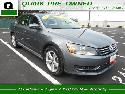 Certified Pre-Owned 2012 Volkswagen Passat SE FWD 4dr Car