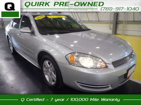 Certified Pre-Owned 2013 Chevrolet Impala LT FWD 4dr Car