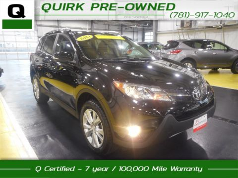 Certified Pre-Owned 2014 Toyota RAV4 Limited With Navigation & AWD