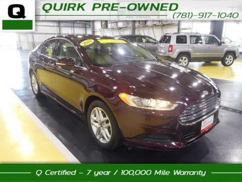 Certified Pre-Owned 2013 Ford Fusion SE FWD 4dr Car