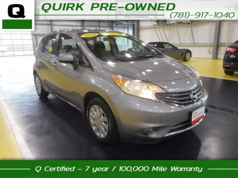 Certified Pre-Owned 2014 Nissan Versa Note S Plus FWD Hatchback