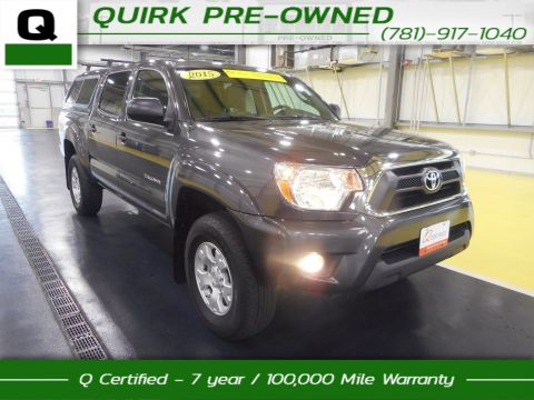 Certified Pre-Owned 2015 Toyota Tacoma SR5 4WD