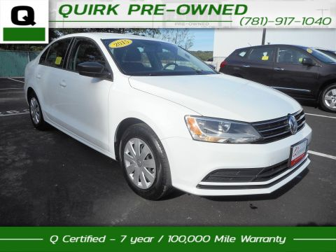 Certified Pre-Owned 2015 Volkswagen Jetta Sedan 2.0L S FWD 4dr Car