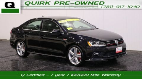 Certified Pre-Owned 2017 Volkswagen Jetta GLI FWD 4dr Car