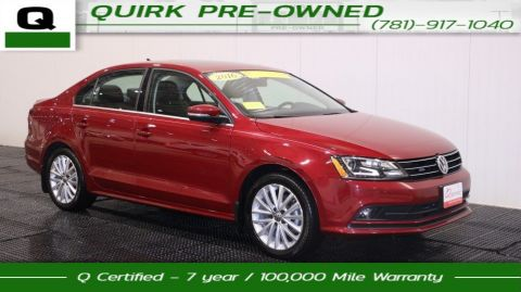 Certified Pre-Owned 2016 Volkswagen Jetta Sedan SEL FWD 4dr Car