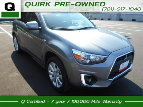 Certified Pre-Owned 2015 Mitsubishi Outlander Sport 2.4 GT 4WD