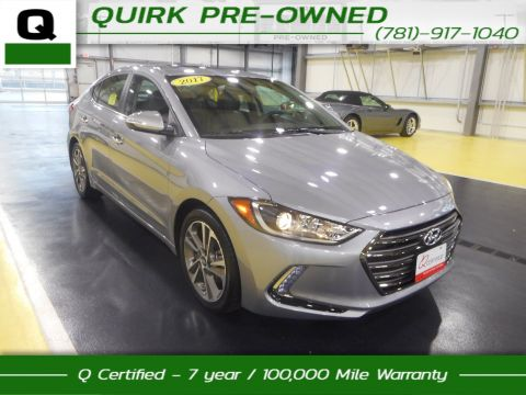 Certified Pre-Owned 2017 Hyundai Elantra Limited FWD 4dr Car