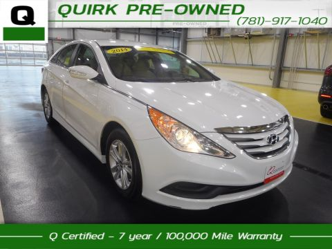 Certified Pre-Owned 2014 Hyundai Sonata GLS FWD 4dr Car