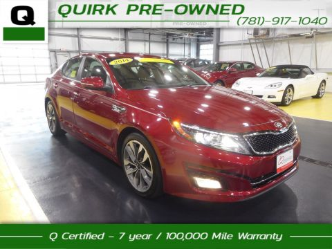 Certified Pre-Owned 2014 Kia Optima  FWD 4dr Car