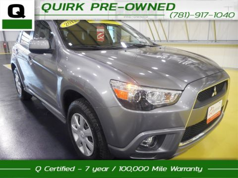 Certified Pre-Owned 2012 Mitsubishi Outlander Sport ES FWD Sport Utility