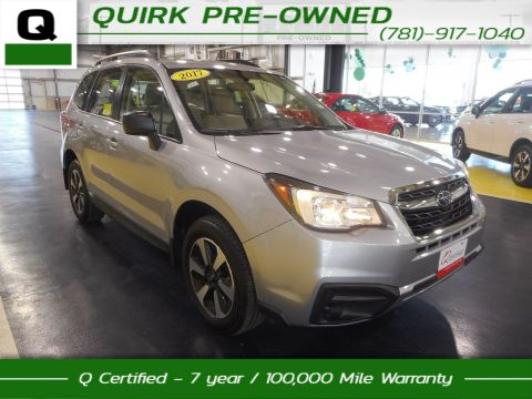 Certified Pre-Owned 2017 Subaru Forester  AWD