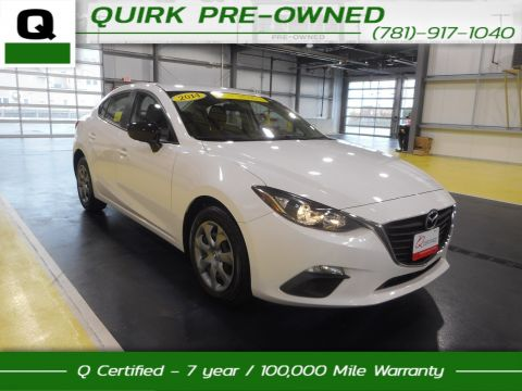 Certified Pre-Owned 2014 Mazda3 i SV FWD 4dr Car