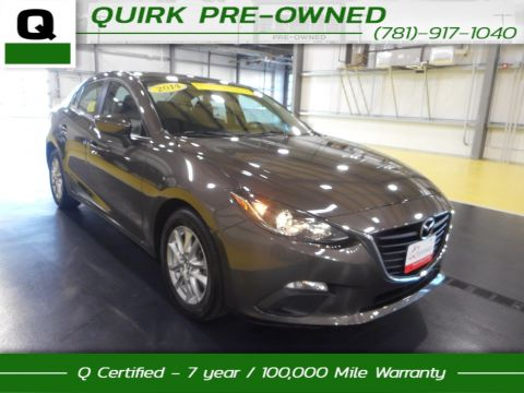 Certified Pre-Owned 2014 Mazda3 i Touring FWD 4dr Car