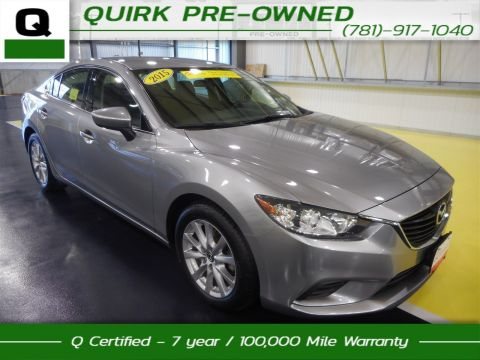 Certified Pre-Owned 2015 Mazda6 i Sport FWD 4dr Car