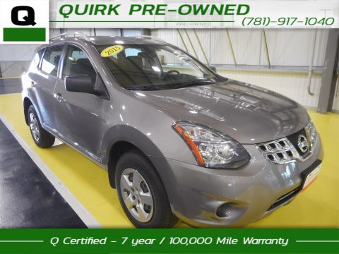 Certified Pre-Owned 2015 Nissan Rogue Select S AWD