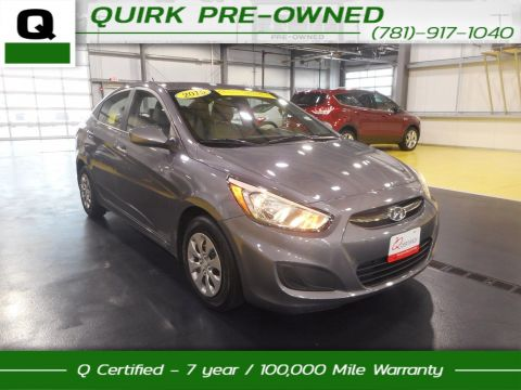 Certified Pre-Owned 2015 Hyundai Accent GLS FWD 4dr Car