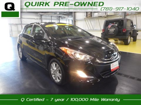 Certified Pre-Owned 2013 Hyundai Elantra GT FWD Hatchback