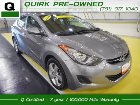 Certified Pre-Owned 2013 Hyundai Elantra GLS PZEV FWD 4dr Car