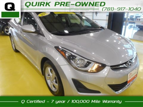 Certified Pre-Owned 2015 Hyundai Elantra SE FWD 4dr Car