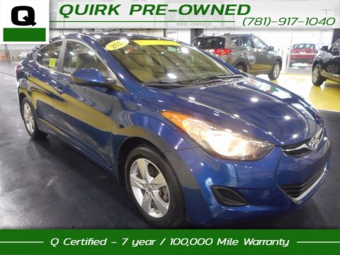 Certified Pre-Owned 2013 Hyundai Elantra GLS FWD 4dr Car