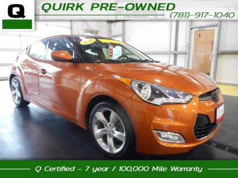 Certified Pre-Owned 2014 Hyundai Veloster  FWD 3dr Car