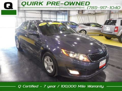 Certified Pre-Owned 2015 Kia Optima LX FWD 4dr Car