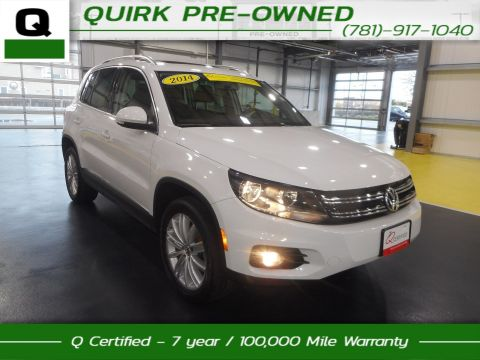 Certified Pre-Owned 2014 Volkswagen Tiguan SEL With Navigation & AWD