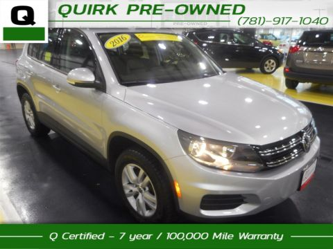 Certified Pre-Owned 2016 Volkswagen Tiguan S AWD