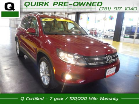 Certified Pre-Owned 2015 Volkswagen Tiguan SE/Appearance AWD