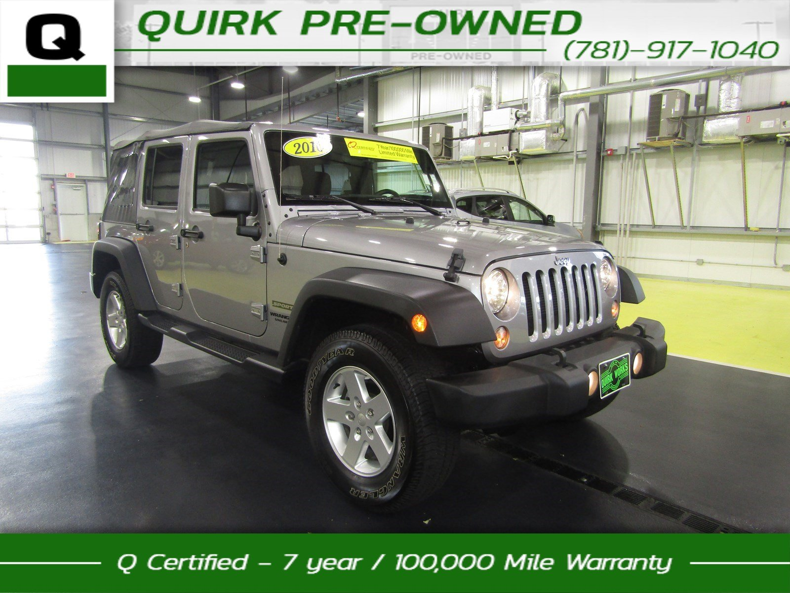 certified pre owned 2016 jeep wrangler unlimited sport suvs in