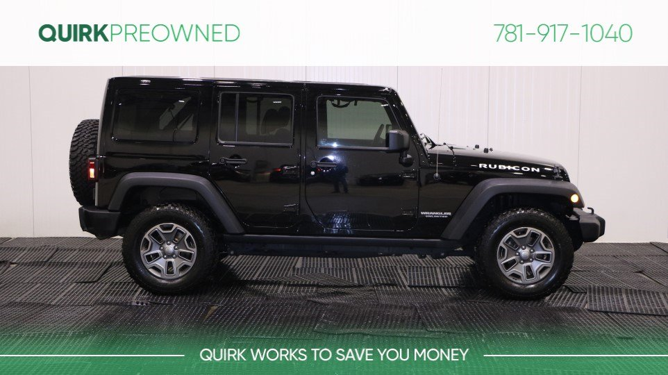 Certified Pre Owned 2015 Jeep Wrangler Unlimited Rubicon