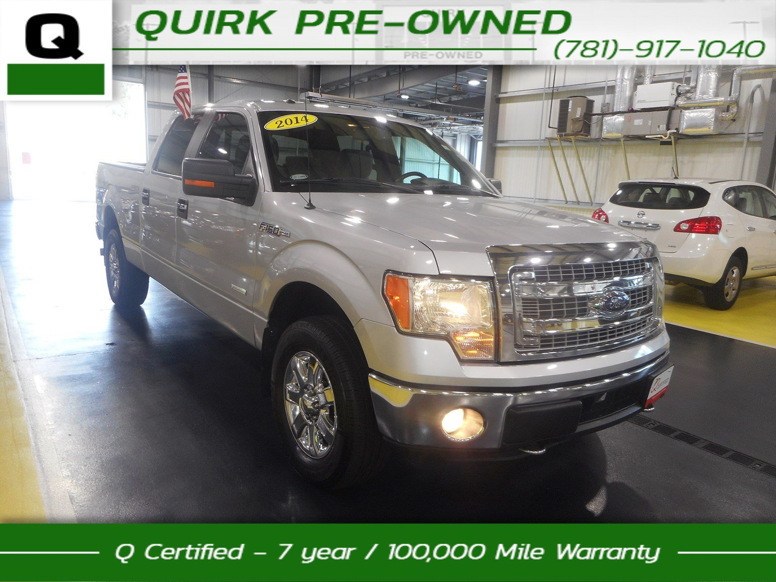 2014 Ford F150 4WD