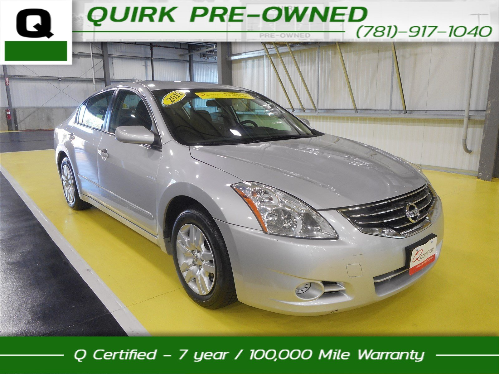 Certified Pre-Owned 2012 Nissan Altima 2.5 S