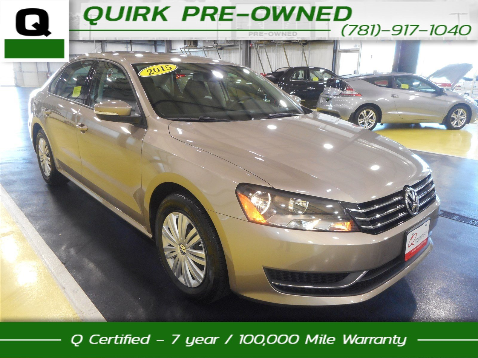 Certified pre owned 2015 volkswagen passat limited edition fwd 4dr car