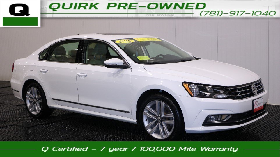 passat inventory owned volkswagen fwd sel premium certified car pre