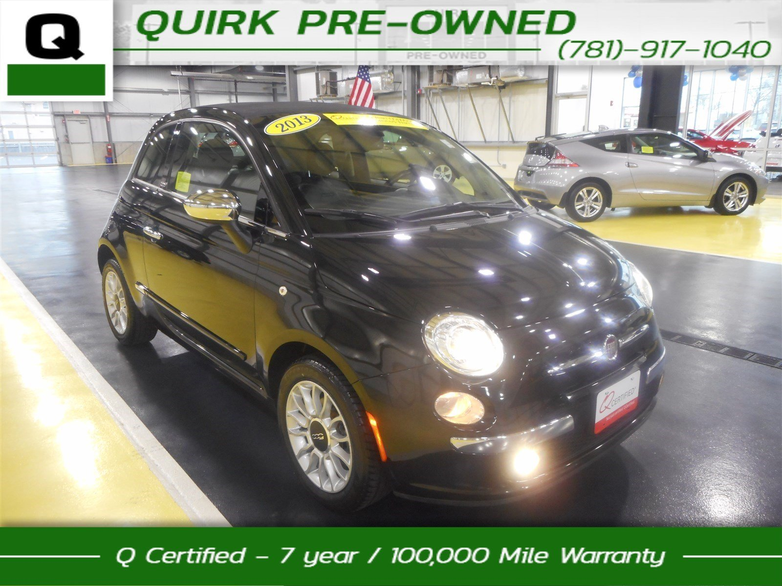 Certified Pre-Owned 2013 FIAT 500 Lounge