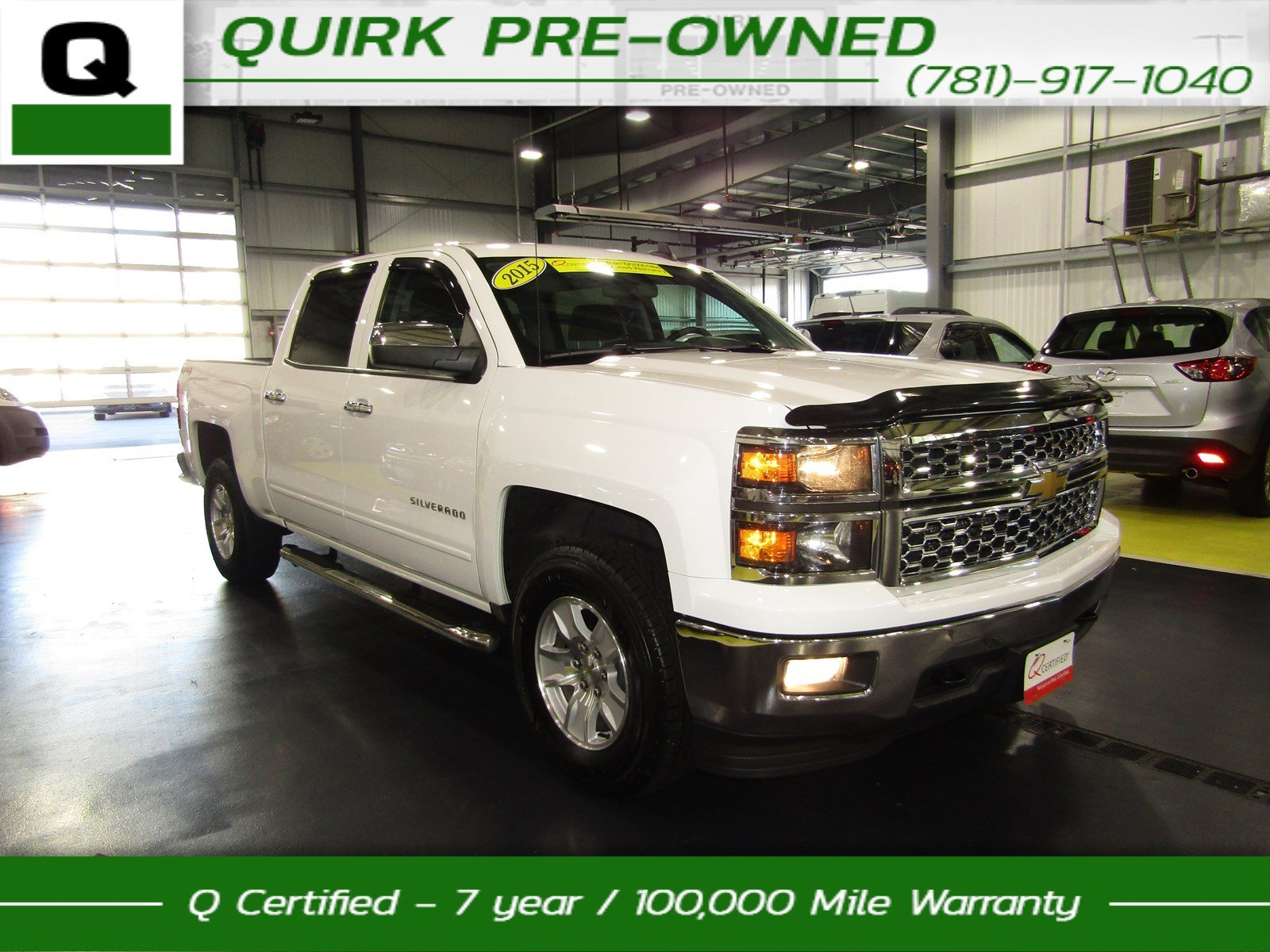certified pre owned 2015 chevrolet silverado 1500 lt crew cab pickup